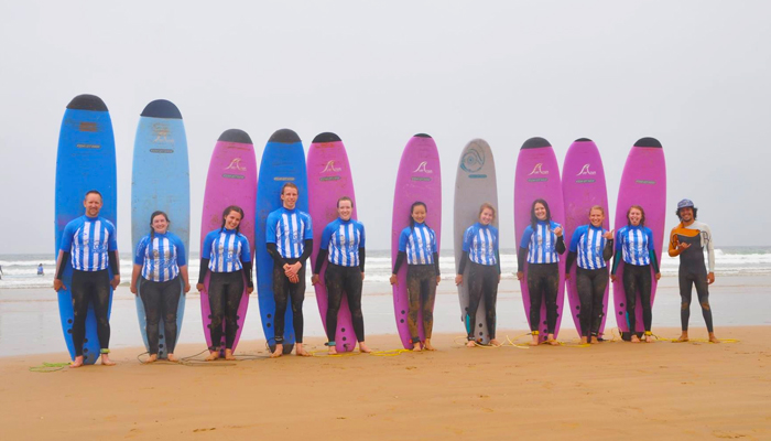 Groups and Students surf packages