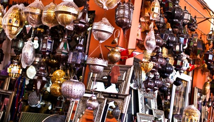 Souk Shopping Agadir Morocco